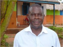 Dan Muyiira, Headteacher at Maria's Care.